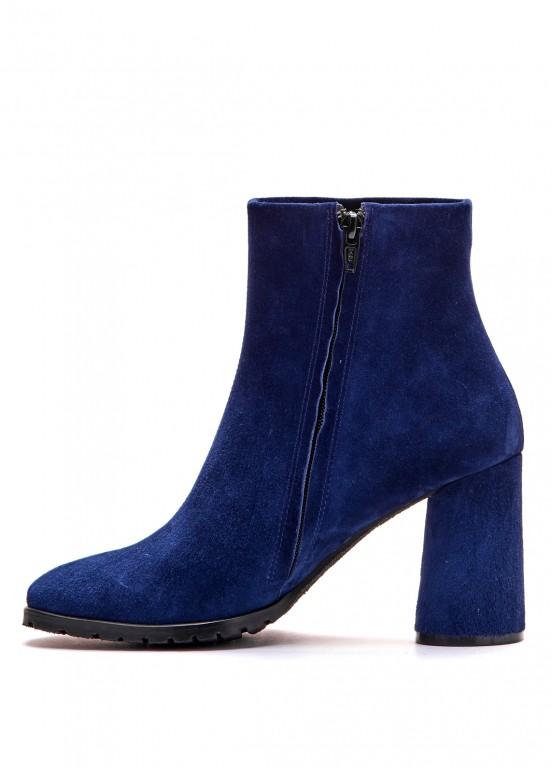 337041 Замшевые синие ботинки