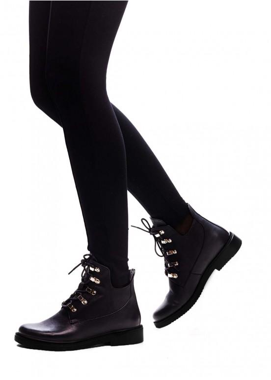 530602 Кожаные ботинки