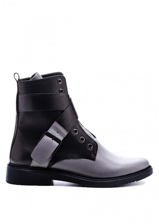 530822 Ботинки серые