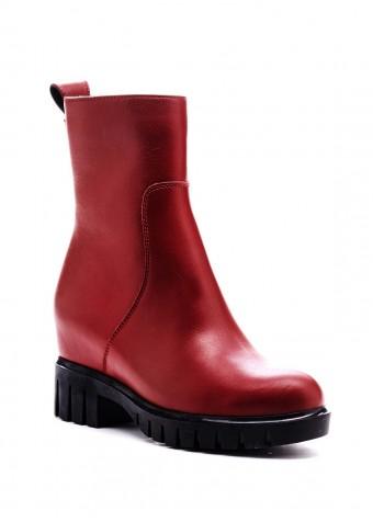 520101 Бордовые ботинки