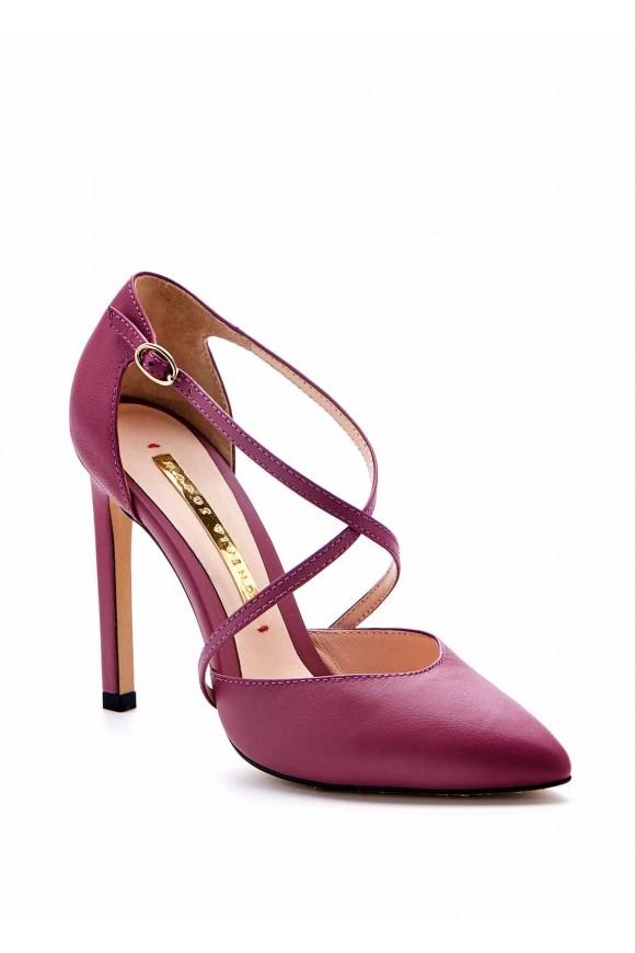 Лиловые Туфли на Высоких Каблуках