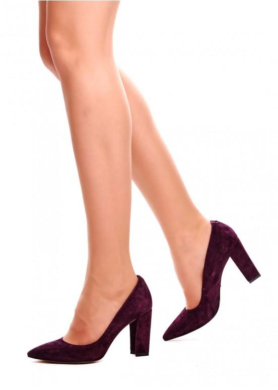 721012 Замшевые туфли