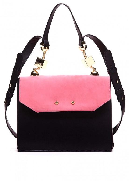 96601 Кожаная стильная сумка