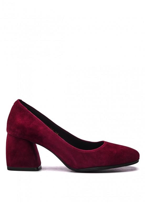 631601 Бордовые туфли