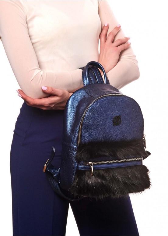 87701 Рюкзак с мехом