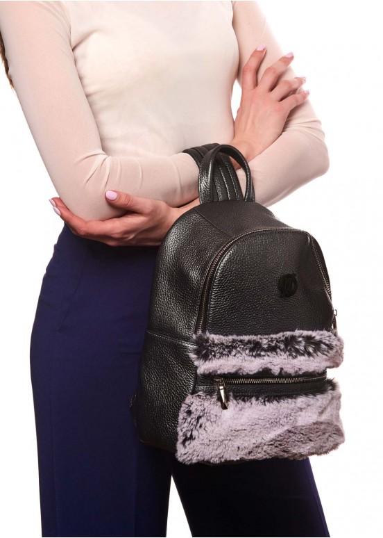 87702 Кожаный рюкзак