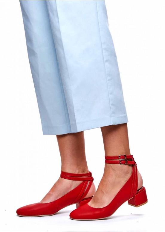 960211 Красные туфли