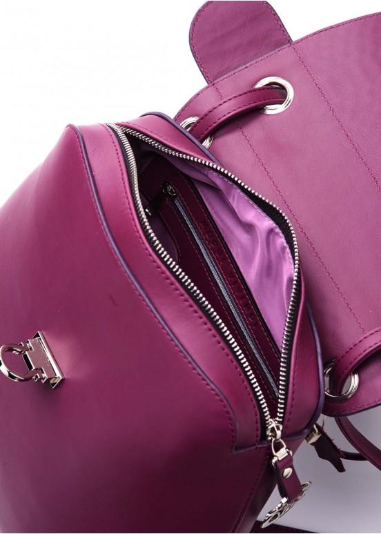 90402 Кожаный рюкзак-сумка