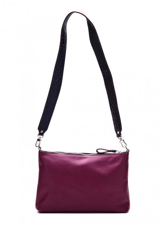 91202 Лиловая сумка-клатч