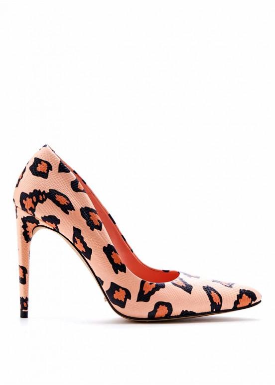 885521 Леопардовые туфли