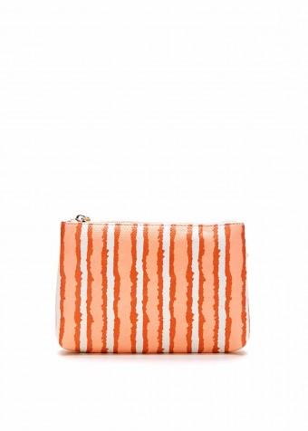 41003 Кожаная сумка с принтом