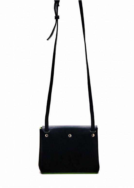 85701 Черная кожаная сумка