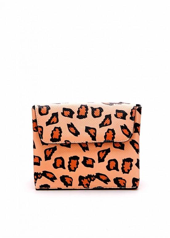 85702 Сумка с леопардовым принтом