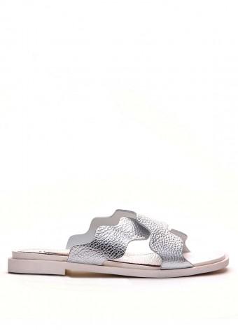 786701 Серебряные сандалии