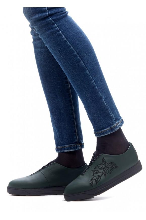 469302 Зеленые туфли
