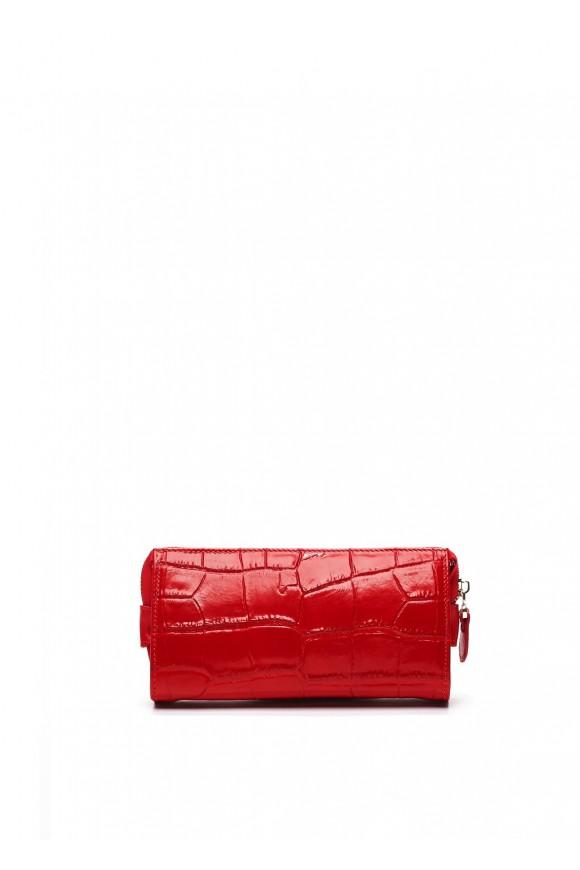 72402 Красный кожаный кошелек